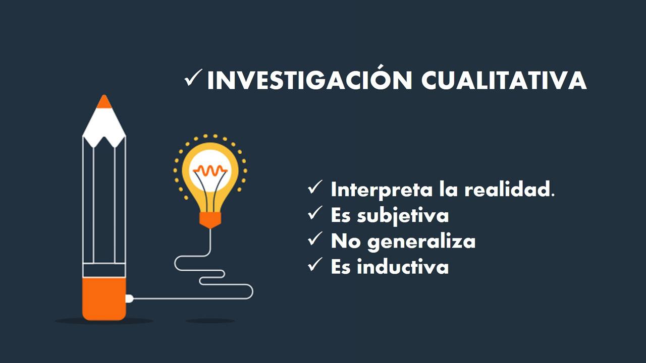 Investigación cualitativa (Según su enfoque)